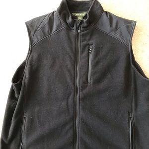 Men's Eddie Bauer fleece vest